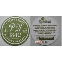 Подставка под пиво Pilsner Urquell. Вар. 1.