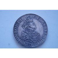 Старая монетка 1642 , копия, 40 мм