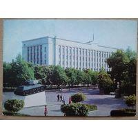 Минск. Здание ЦК КПБ. 1977 г. ПК чистая.