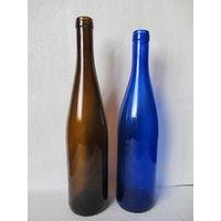 Бутылки цветные(2шт.)