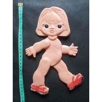 Плоская шарнирная кукла .