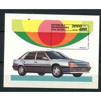 Мадагаскар (Малагаси) - 1993 - Автомобили - [Mi. bl. 206] - 1 блок. MNH.