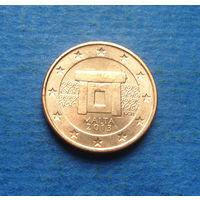 Мальта 1 евроцент 2013