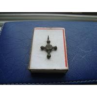Редкий старинный нательный крестик       (3239)