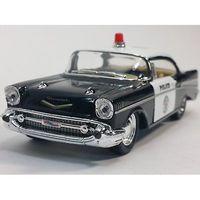 МОДЕЛЬ- SHEVROLET BEL AIR 1957 -POLICE- (Kinsmart) 1:40.