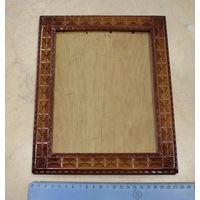 Рамка деревянная резная, для фото.