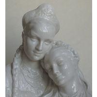 Две сестры Фарфор 1950-е годы СССР