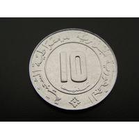 Алжир. 10 сантимов 1989 год KM#115