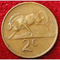 6824:  2 цента 1974 ЮАР