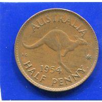 Австралия 1/2 пенни 1954