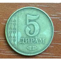 Таджикистан, 5 дирамов 2011