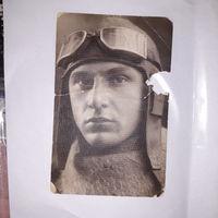Портретное Фото РККА ЛЕТЧИК 1930-40 ( А11)