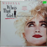 MADONNA 	WHO S THAT GIRL		1987