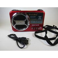 Радиоприемник Waxiba XB-83URT, SD, USB, microSD