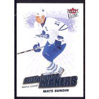 НХЛ сезон 2008-2009 FLEER Ultra Difference Makers SUNDIN