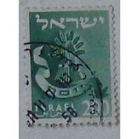 Марка Израиля. Дата выпуска:1956-05-06