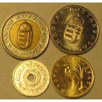 100+10+5 форинтов и 2 филлера Венгрия