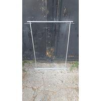 Рамка для раздвижных дверок, лицевого экрана и прочего, из алюминия.Высота 100см, длина 73.5см.