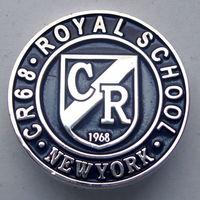 "Значок ""Royal School. CR68. New York"", США"