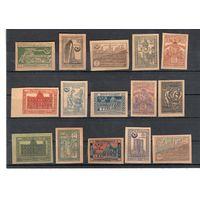Азербайджан гражданская война 1921 можно и отдельные марки