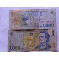 Румыния. 1000 лей образца 1998 года  распродажа