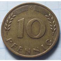 Германия 10 пфеннигов, 1967          G       ( 6-6-2 )