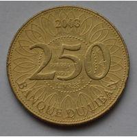 Ливан, 250 ливров 2003 г.