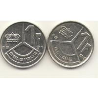 Пара: 1 франк 1991 г. Q: KM#170 и E: KM#171