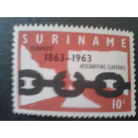 Суринам 1963 автономия Нидерландов разорванная цепь