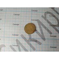 Монета 10 сантимов 1978 Франция