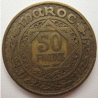Марокко 50 франков 1952 г. (u)
