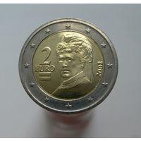 2 евро 2002 Австрия aUNC