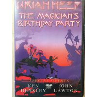 DVD URIAH HEEP the magician`s birthday party