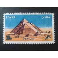 Египет 1985 Пирамиды