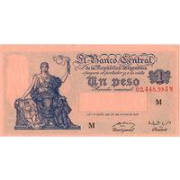 Аргентина, 1 песо, 1947 г. aUNC