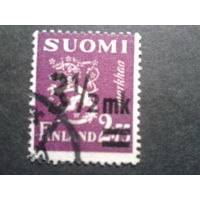 Финляндия 1943 стандарт, надпечатка