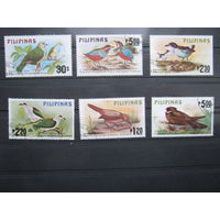 Марки - фауна, Филиппины, птицы