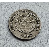 Колумбия 10 сентаво, 1964 3-15-23