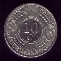 10 центов 2014 год Антильские острова