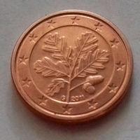 1 евроцент, Германия 2011 G, UNC