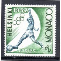 Монако.Ми-458. Футбол. Серия: Летние Олимпийские игры 1952, Хельсинки.