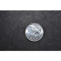 Индонезия 200 рупий