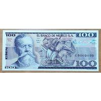 100 песо (25.03.1982) - Мексика - UNC