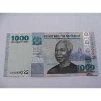 Танзания. 1000 шиллингов 2003 год UNC