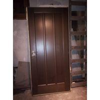 Дверь 900 мм межкомнатная с коробкой