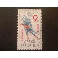 Чехия 2006 надпечатка на олимпийской марке