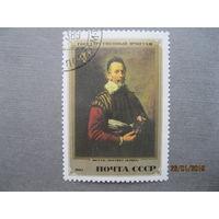 Марка СССР 1982 год Шедевры Государственного Эрмитажа