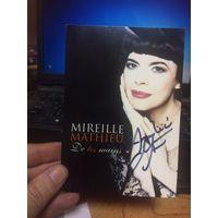 Автограф Мирей Матье 2