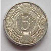 Нидерландские Антилы 5 центов 1993