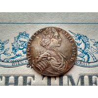 Монета РИ, 1 рубль 1712.